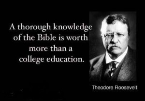 Bible is worth more than college education